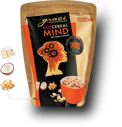 "Functional hot cereal Graci ""Mind"""