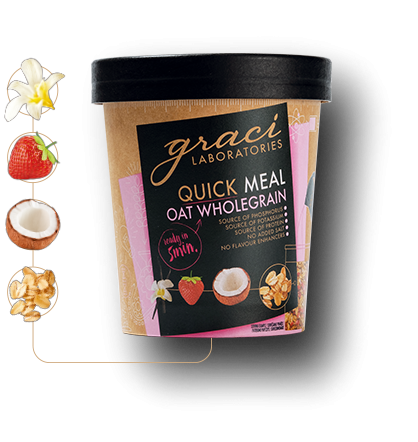 Graci wholegrain oatmeal