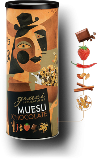 Muesli in a tube